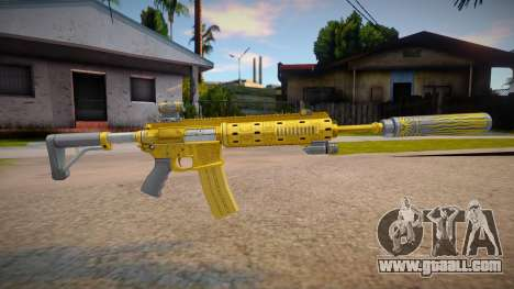 Carabine Rifle Luxe from Grand Theft Auto V for GTA San Andreas