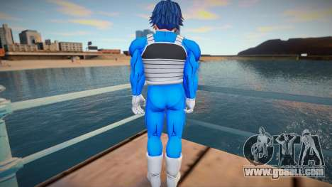 Male from Dragon Ball for GTA San Andreas