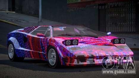 Lamborghini Countach GST-S S2 for GTA 4