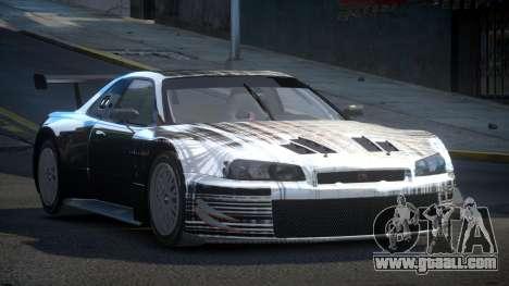 Nissan Skyline R34 US S5 for GTA 4