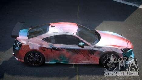 Subaru BRZ SP-U S6 for GTA 4
