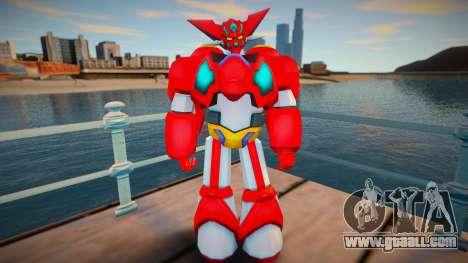 New Getter Robo for GTA San Andreas