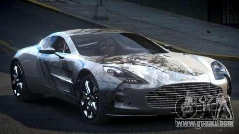 Aston Martin BS One-77 S8 for GTA 4