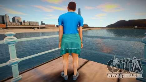 Skin from GTA V v9 for GTA San Andreas