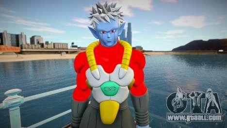 Mira from Dragon Ball Xenoverse for GTA San Andreas