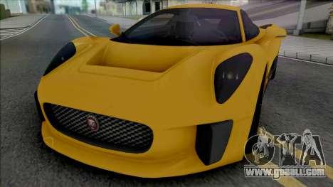 Jaguar C-X75 (SA Light) for GTA San Andreas