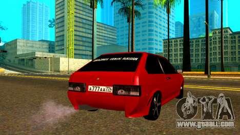 Vaz 2108 AVR Version 1.2 for GTA San Andreas