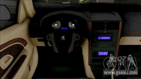 Peugeot Pars Year for GTA San Andreas