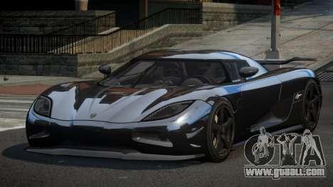 Koenigsegg Agera US for GTA 4