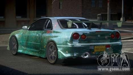Nissan Skyline R34 PSI-S S6 for GTA 4