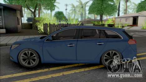 Opel Insignia Wagon Blue for GTA San Andreas