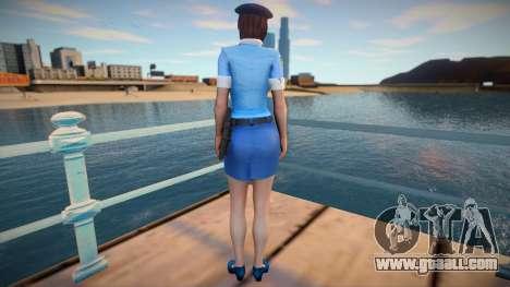 Jill Police for GTA San Andreas
