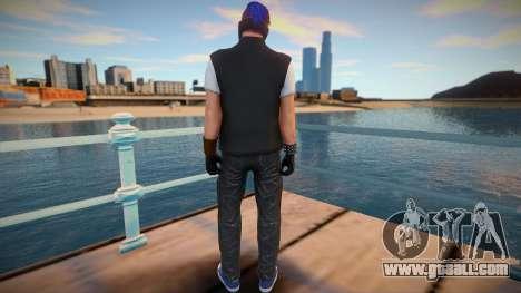 Male Biker DLC from GTA Online for GTA San Andreas