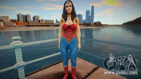 Wonder Woman skin for GTA San Andreas