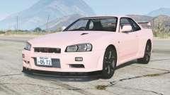 Nissan Skyline GT-R V-spec II (BNR34) 2000〡add-on v1.6.1a for GTA 5
