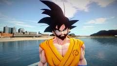 Goku beard for GTA San Andreas