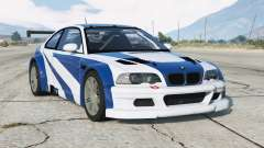 BMW M3 GTR (E46) Most Wanted v2.2 for GTA 5