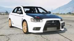 Mitsubishi Lancer Evolution X 2015〡add-on v2.0 for GTA 5