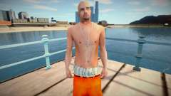 Latinos in prison clothes for GTA San Andreas