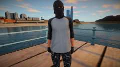 Dude in a knitted mask from GTA Online for GTA San Andreas