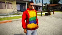 Playboy X Hoodie for GTA San Andreas