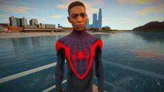 Miles Morales - Classic Suit v2 for GTA San Andreas