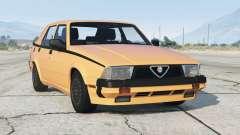 Alfa Romeo Milano Quadrifoglio Verde 1992〡add-on v1.1 for GTA 5