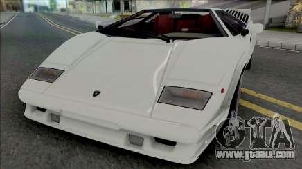 Lamborghini Countach LP5000QV & 25th Anniversary for GTA San Andreas
