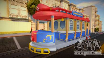 Mario Kart 8 Tram M for GTA San Andreas
