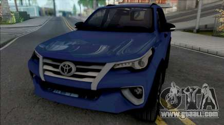 Toyota Fortuner [HQ] for GTA San Andreas