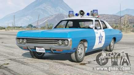 Dodge Polara (DE) 1971〡Chicago Police〡add-on [ELS] for GTA 5