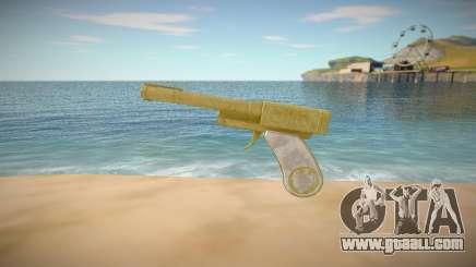 Desert Eagle from GTA Online DLC Cayo Perico Hei for GTA San Andreas