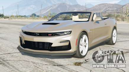 Chevrolet Camaro SS Convertible 2020〡add-on for GTA 5