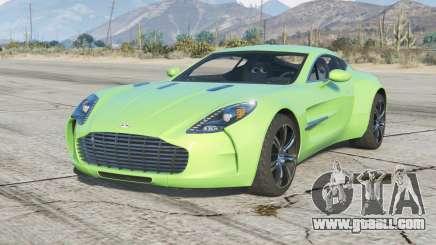 Aston Martin One-77 2010〡add-on v2.0 for GTA 5