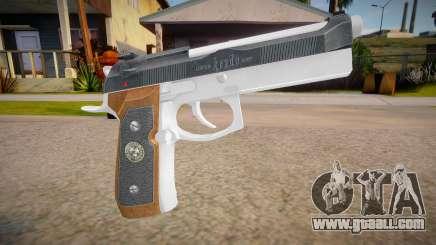 RE2: Remake - Samurai Edge Colt v1 for GTA San Andreas