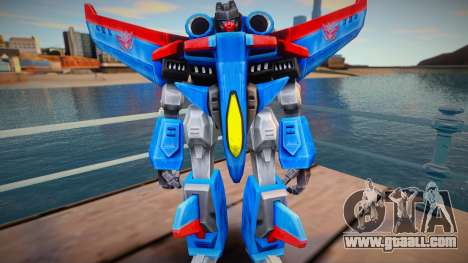 Starscream from TF Armada v2 for GTA San Andreas