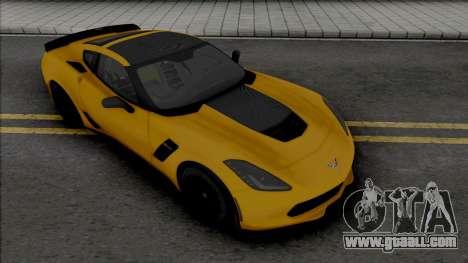 Chevrolet Corvette Z06 (C7) (SA Lights) for GTA San Andreas