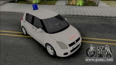 Suzuki Swift Driving School for GTA San Andreas