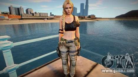 Helena Guerrilla for GTA San Andreas
