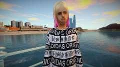 Fashionable girl for GTA San Andreas