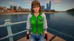 Dead Or Alive 5 - Hitomi (Costume 2) for GTA San Andreas