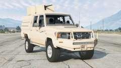 Toyota Land Cruiser Double Cab (J79) 2012〡paramilitary for GTA 5
