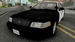 Ford Crown Victoria 2011 CVPI LAPD GND v2