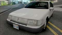 Mercury Sable GS 1989 Lowpoly