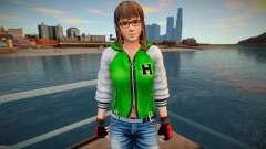 Dead Or Alive 5 - Hitomi (Costume 2) v5 for GTA San Andreas