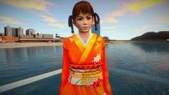 Lei Fang Furisode Kimono Crimson for GTA San Andreas