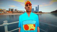 Wmypizz in a T-shirt for GTA San Andreas