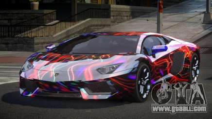Lamborghini Aventador GST Drift S5 for GTA 4
