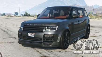 Range Rover Vogue Mk IV Mansory〡add-on for GTA 5