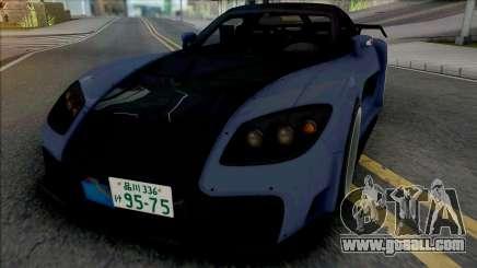 Mazda RX-7 VeilSide Fortune Blue for GTA San Andreas